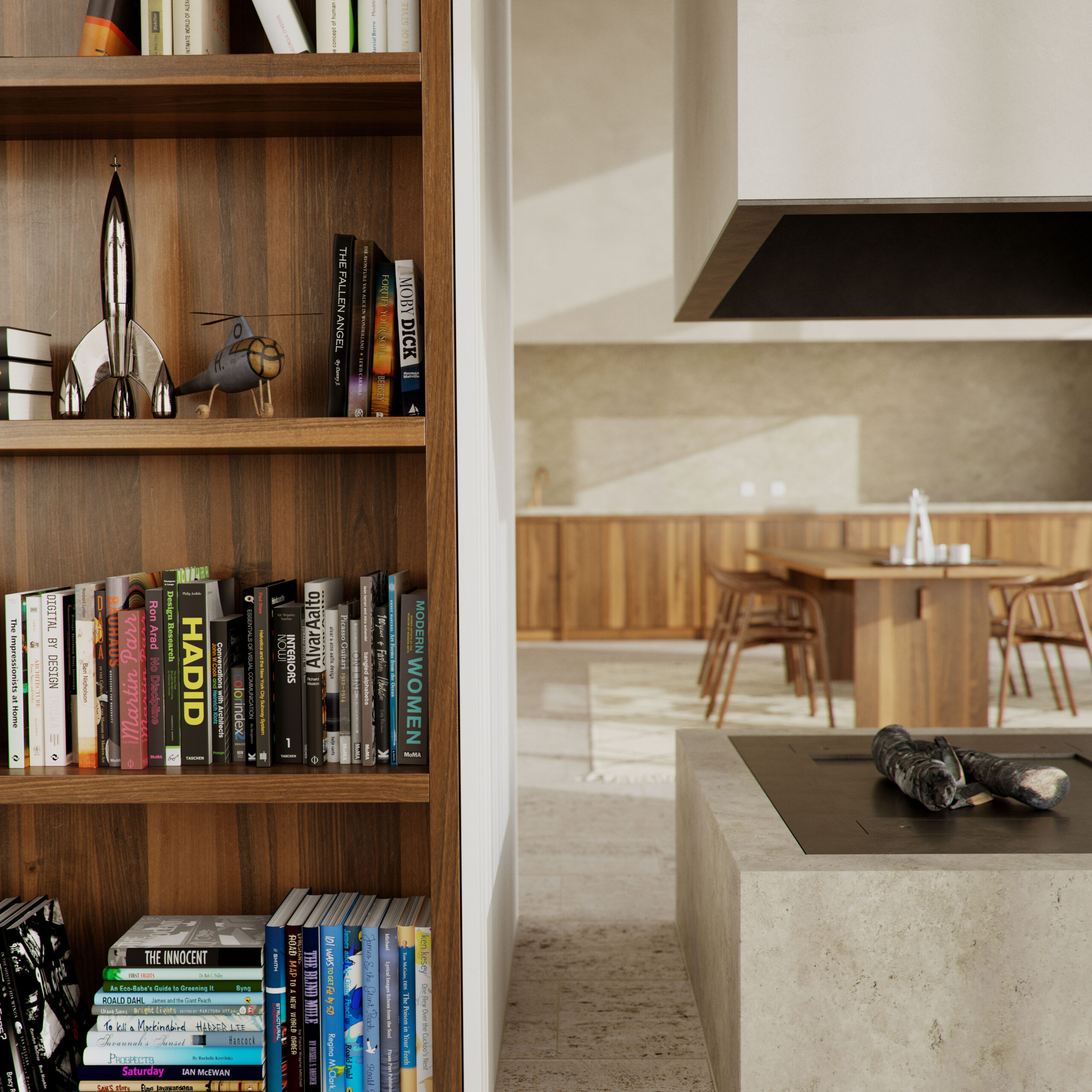 Architecture by David Chipperfield / Interior by Hans Verstuyft Architects